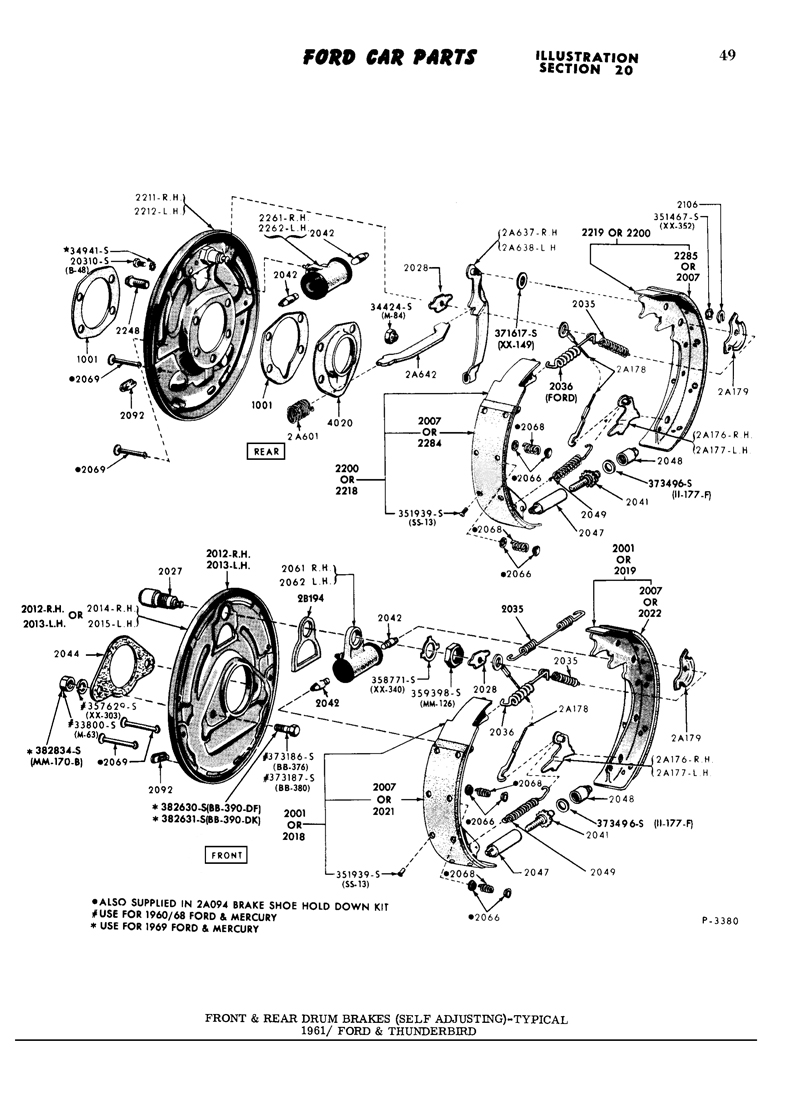 Rear Brake Pics Diagram Ipl Needed 62 Bird