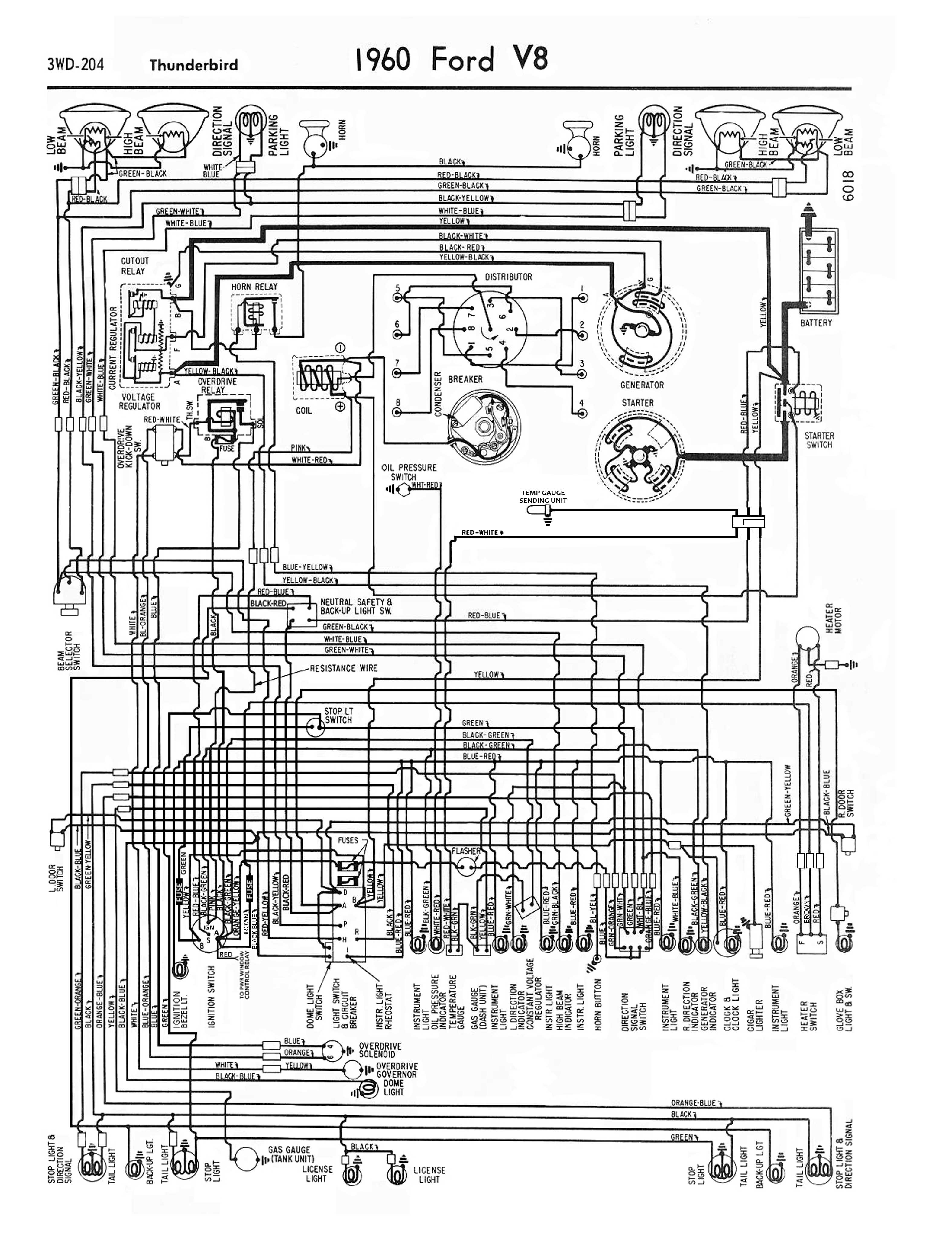 1968 falcon wiring diagram 1958 68 ford electrical schematics  1958 68 ford electrical schematics