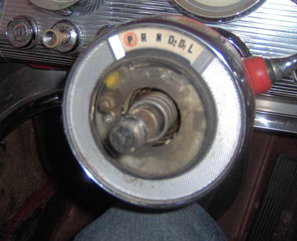 Squarebirds 1958 1959 1960 Thunderbird Shift Lever Detent