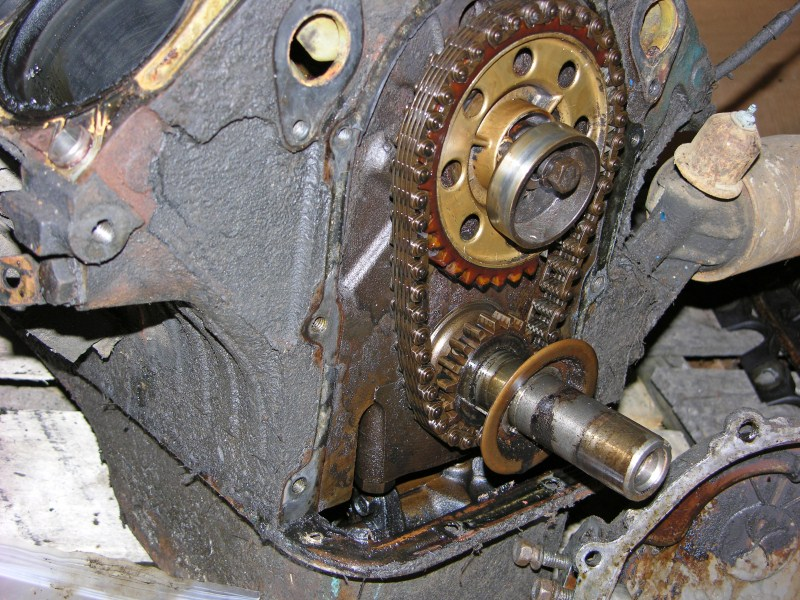 390 W  P  U0026 Timing Chain Set Removal